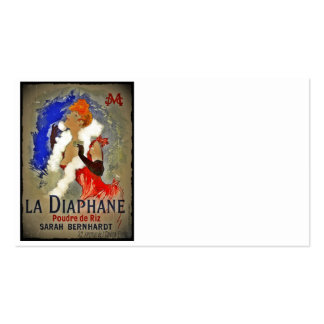 Sarah Berhardt La Diaphane Double-Sided Standard Business Cards (Pack Of 100)