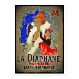 Sarah Berhardt La Diaphane Postcard