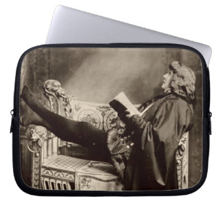 Sarah Bernhardt (1844-1923) as Hamlet in the 1899 Computer Sleeve