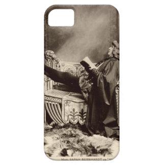 Sarah Bernhardt (1844-1923) as Hamlet in the 1899 iPhone 5 Covers
