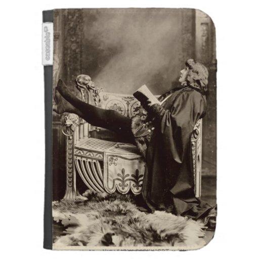 Sarah Bernhardt (1844-1923) as Hamlet in the 1899 Kindle 3 Cases