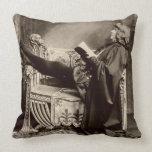 Sarah Bernhardt (1844-1923) as Hamlet in the 1899 Pillow