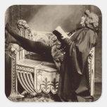 Sarah Bernhardt (1844-1923) como Hamlet en el 1899 Pegatina Cuadrada