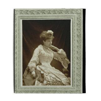 Sarah Bernhardt (1844-1923), from 'Galerie Contemp iPad Cases