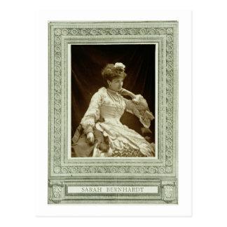 Sarah Bernhardt (1844-1923), from 'Galerie Contemp Postcard