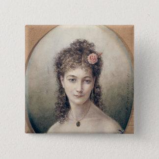 Sarah Bernhardt  1869 Pinback Button