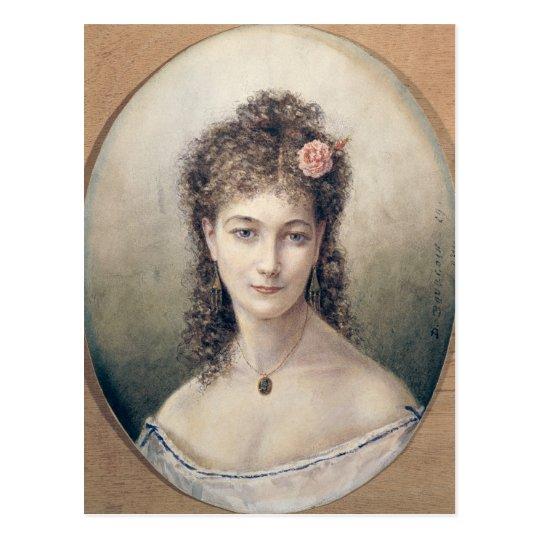 Sarah Bernhardt  1869 Postcard