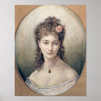 Sarah Bernhardt  1869 Poster