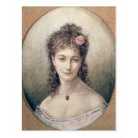 Sarah Bernhardt 1869 Tarjeta Postal