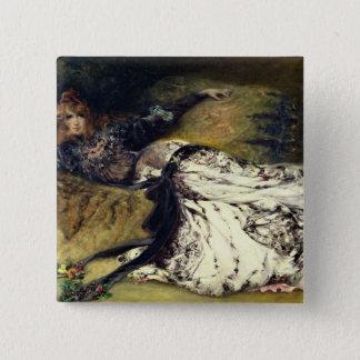 Sarah Bernhardt  1871 Button