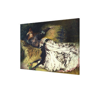 Sarah Bernhardt 1871 Impresión En Lona Estirada