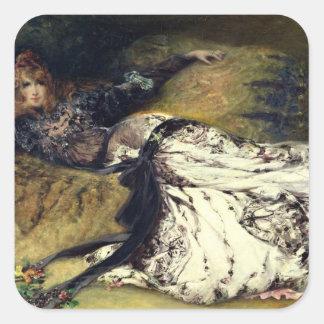 Sarah Bernhardt  1871 Square Sticker