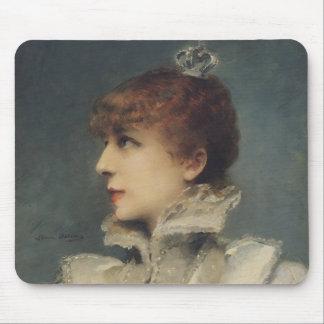 Sarah Bernhardt  1875 Mouse Pad