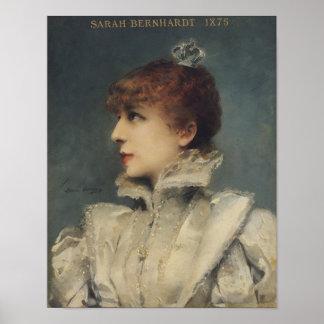 Sarah Bernhardt  1875 Poster