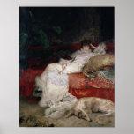 Sarah Bernhardt  1876 Poster