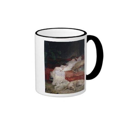 Sarah Bernhardt  1876 Ringer Mug