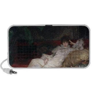 Sarah Bernhardt  1876 Notebook Speaker