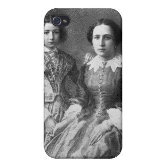 Sarah Bernhardt and her mother? iPhone 4 Case
