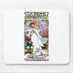 Sarah Bernhardt, dama Camélias aux. del La Alfombrillas De Ratón