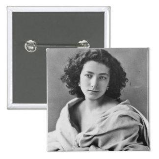 Sarah Bernhardt  in costume, c.1860 Button