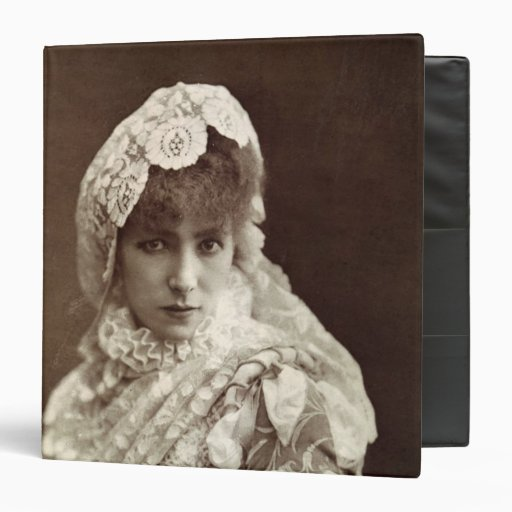 Sarah Bernhardt  in the role of Marion Delorme Binder