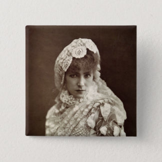Sarah Bernhardt  in the role of Marion Delorme Pinback Button