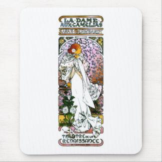Sarah Bernhardt, La Dame aux Camélias Mouse Pad
