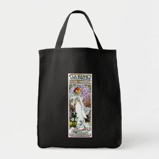 Sarah Bernhardt, La Dame aux Camélias, Mucha Fine Tote Bag