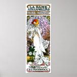 Sarah Bernhardt, La Dame aux Camélias Poster