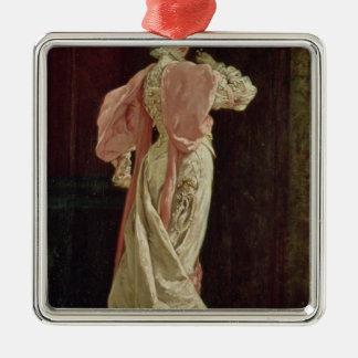 Sarah Bernhardt Metal Ornament