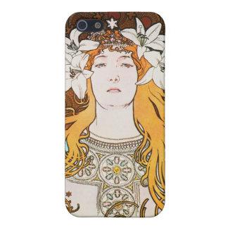 Sarah Bernhardt, Mucha Cover For iPhone SE/5/5s