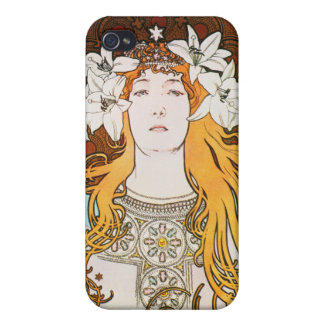 Sarah Bernhardt, Mucha iPhone 4/4S Case