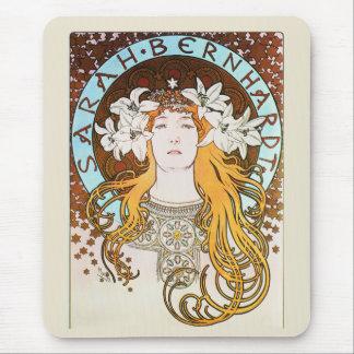Sarah Bernhardt, Mucha Mouse Pad
