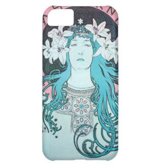 Sarah Bernhardt Mucha Vintage Art Nouveau Retro Cover For iPhone 5C