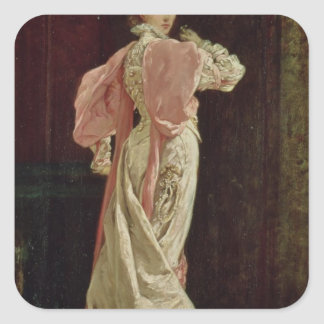 Sarah Bernhardt Square Sticker