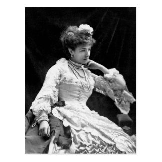 Sarah Bernhardt Vintage Photo - 1877 Postcard
