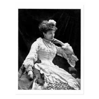 Sarah Bernhardt Vintage Photo - 1877 Postcard