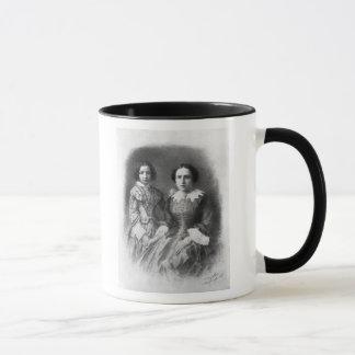 ¿Sarah Bernhardt y su madre?