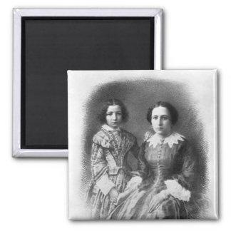 ¿Sarah Bernhardt y su madre? Imán Cuadrado