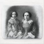 ¿Sarah Bernhardt y su madre? Mouse Pad