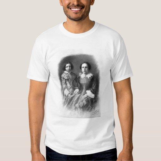 ¿Sarah Bernhardt y su madre? Polera