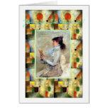 Sarah Bernhardt-You're So Divine ! Greeting Card