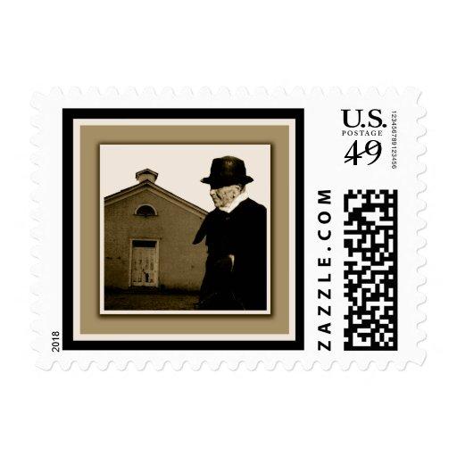 Sarah Black, Teacher and the 1885 Schoolhouse Postage Stamp