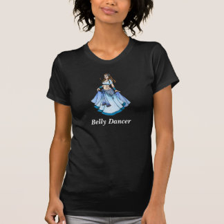 Sarah Blue Bellydancer Tee Shirt
