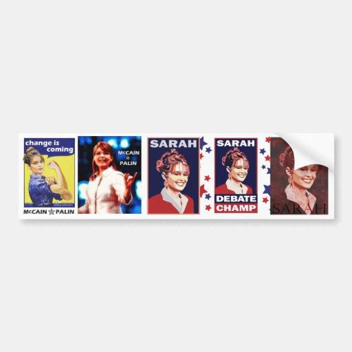 Sarah Car Bumper Sticker