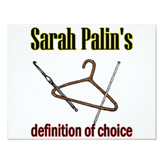 sarah +choice card