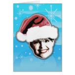 Sarah Claus... Greeting Card