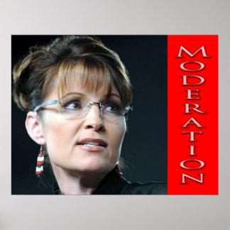 ¿Sarah de moderación Palin? Póster