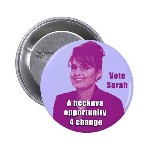 Sarah Debate Button