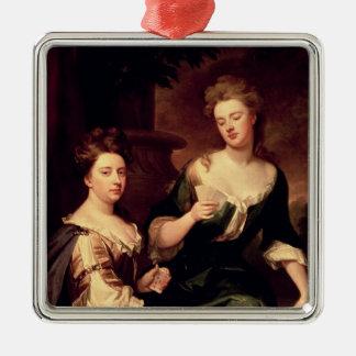 Sarah, Duchess of Marlborough playing Christmas Ornament